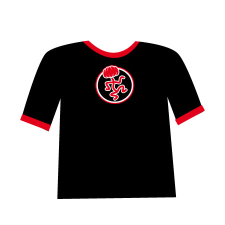 T-shirt-asp-red-fille