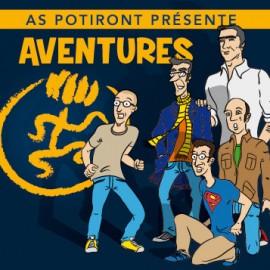 """""""Aventures"""", le dernier album de l'AS POTIRONT"""