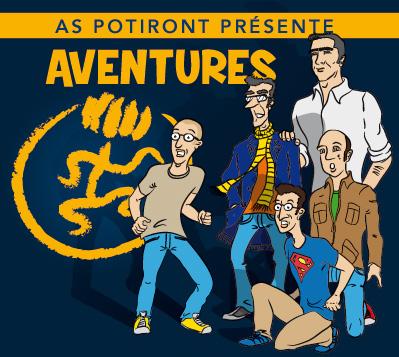 «Aventures», le dernier album de l'AS POTIRONT